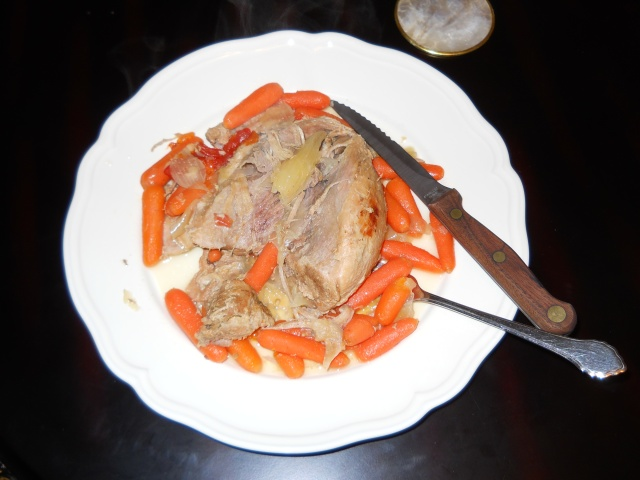 Pork Shoulder and Carrots (Photo by Aileen Torres)