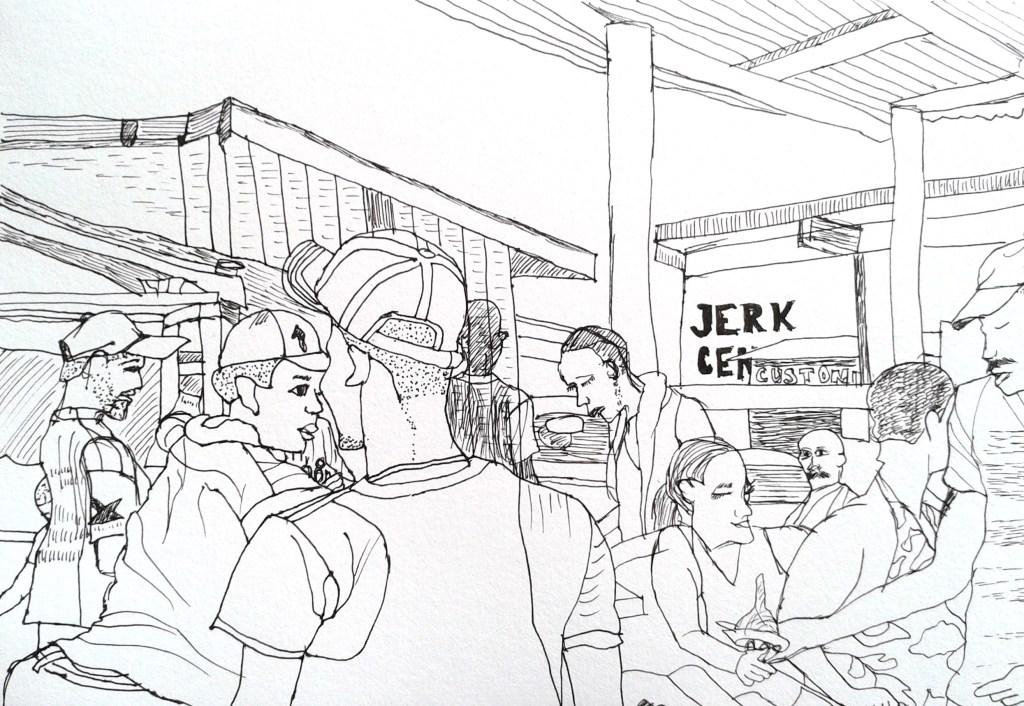 Boston Jerk by Aileen Torres-Bennett