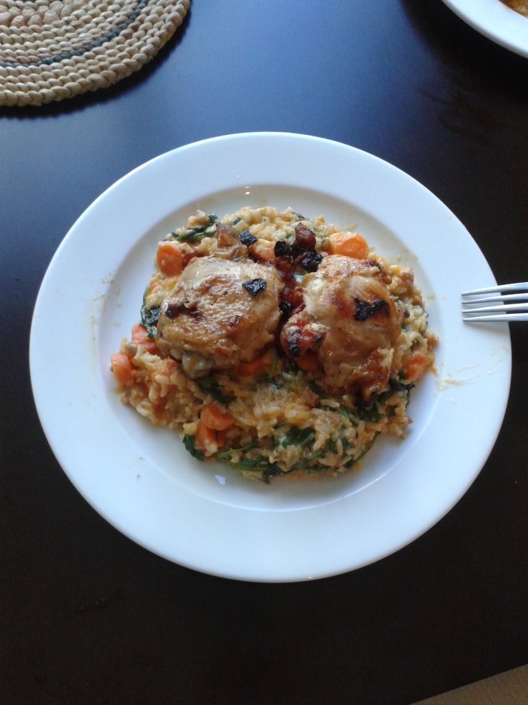 chicken and rice