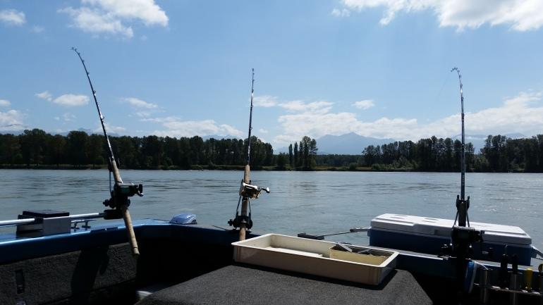 Fishing Fraser River BC
