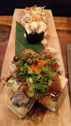 Kingyo mackerel sushi
