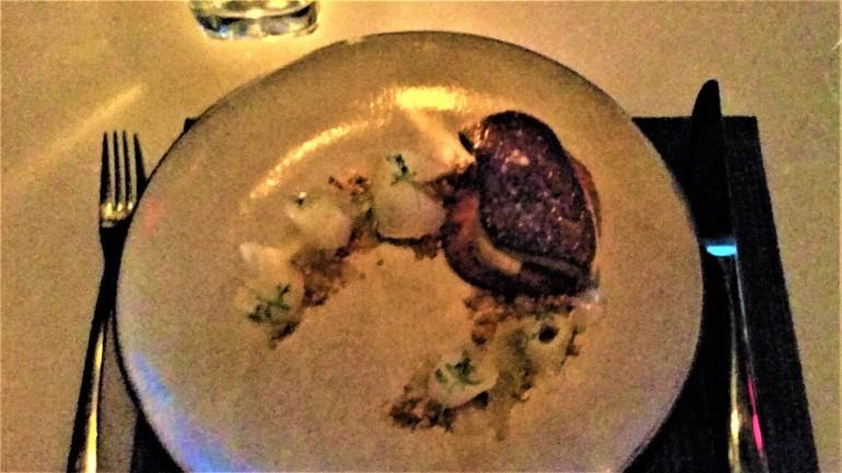 Hawksworth foie gras