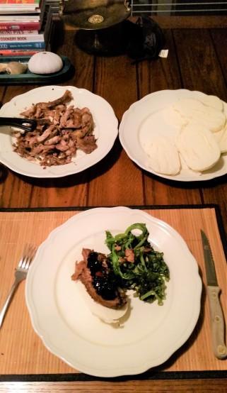 Pork rib bao