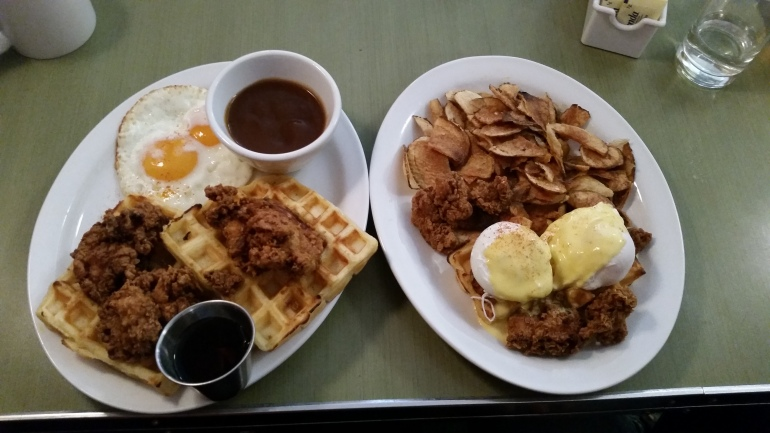 Save on Meats chicken and waffles
