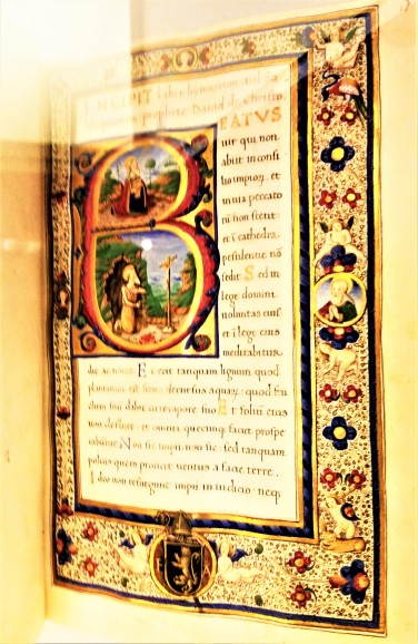 an old book in the Toledo cathedral