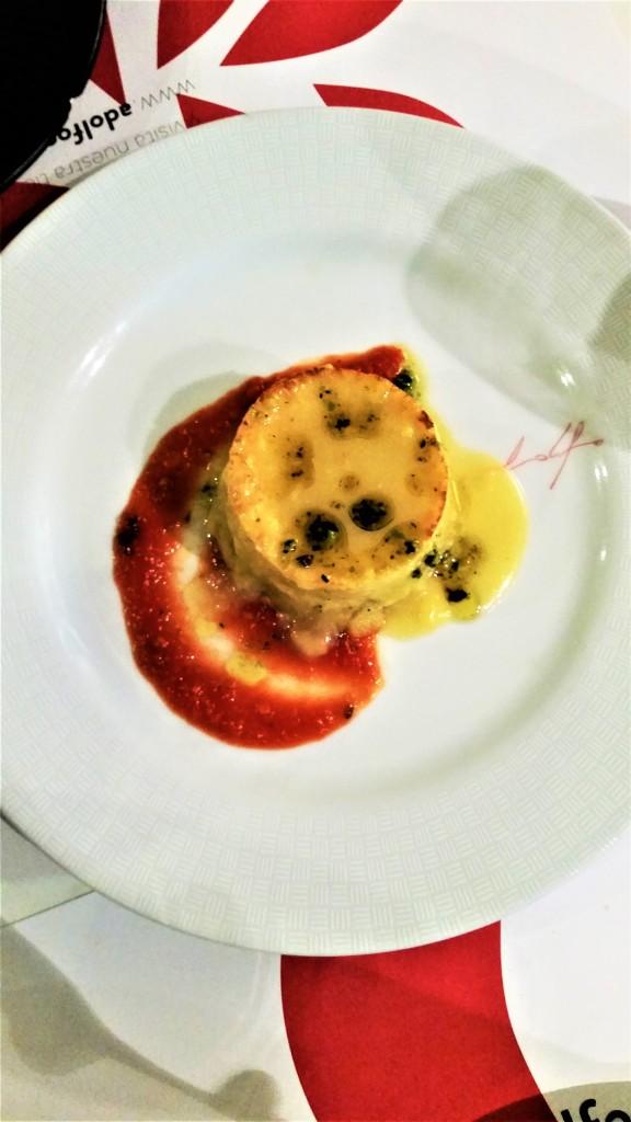 Cod omelette in Toledo