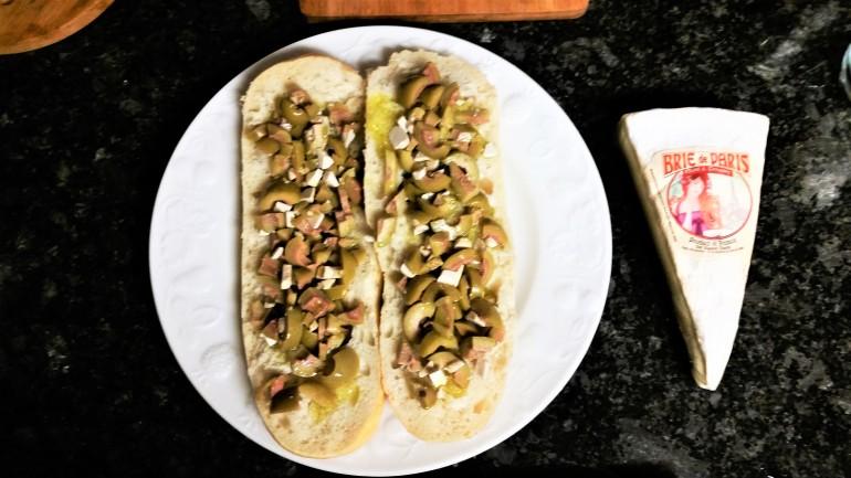 Olive tostas