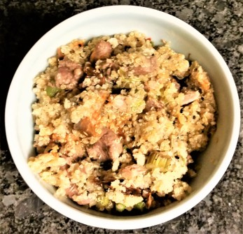 Lamb quinoa