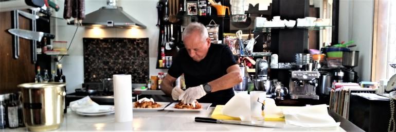 Italian chef Flavio in Fiji