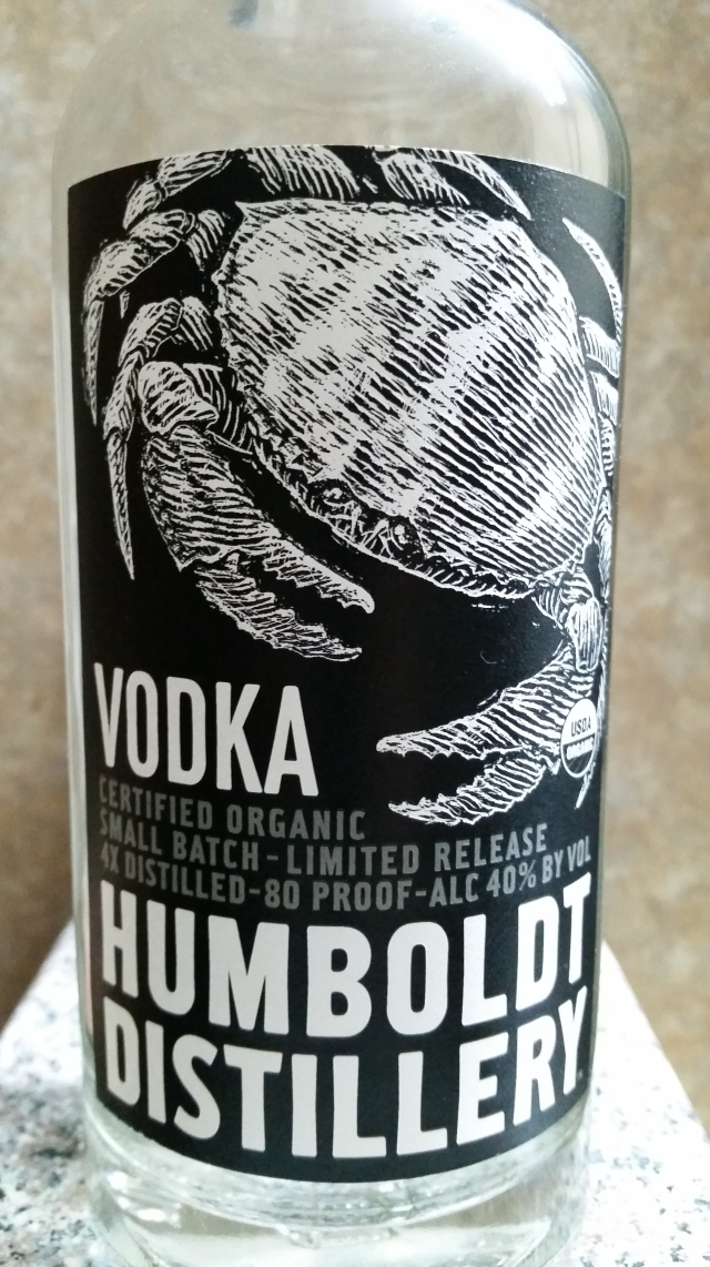 Humboldt Distillery Vodka