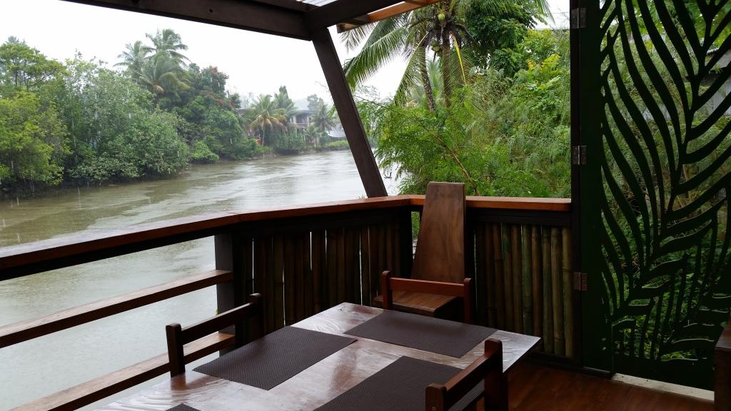 Capitano Cafe balcony