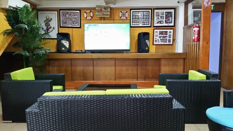 Capitano Cafe indoor lounge