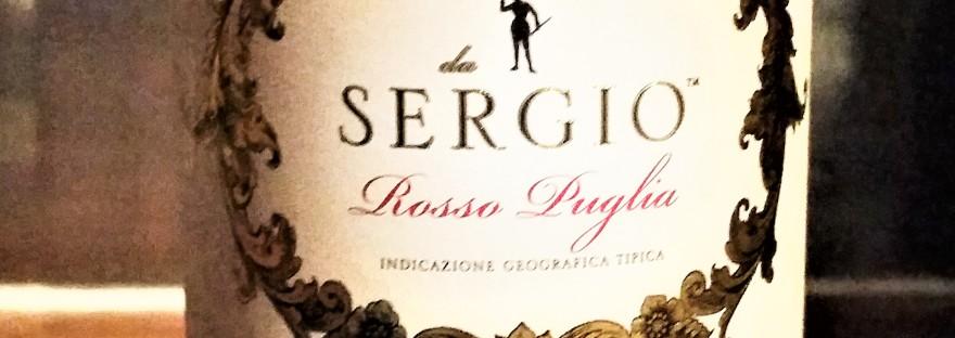 Sergio Rosso Puglia organic wine