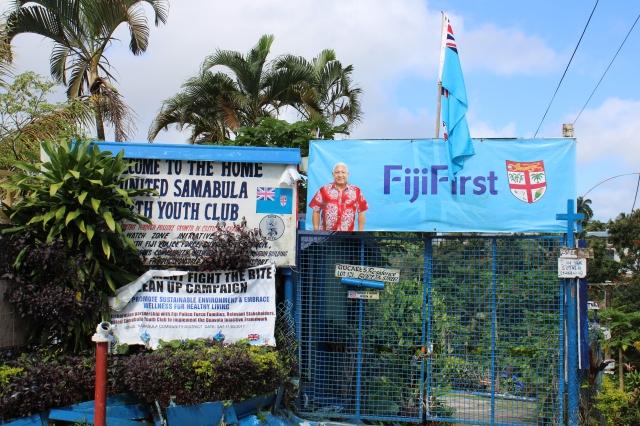 FijiFirst banner Samabula