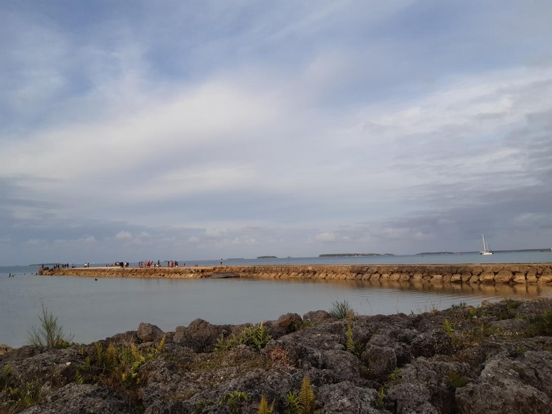 Tongatapu seawall