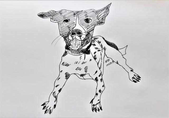 Guthrie the Dog_Illustration by Aileen Torres-Bennett