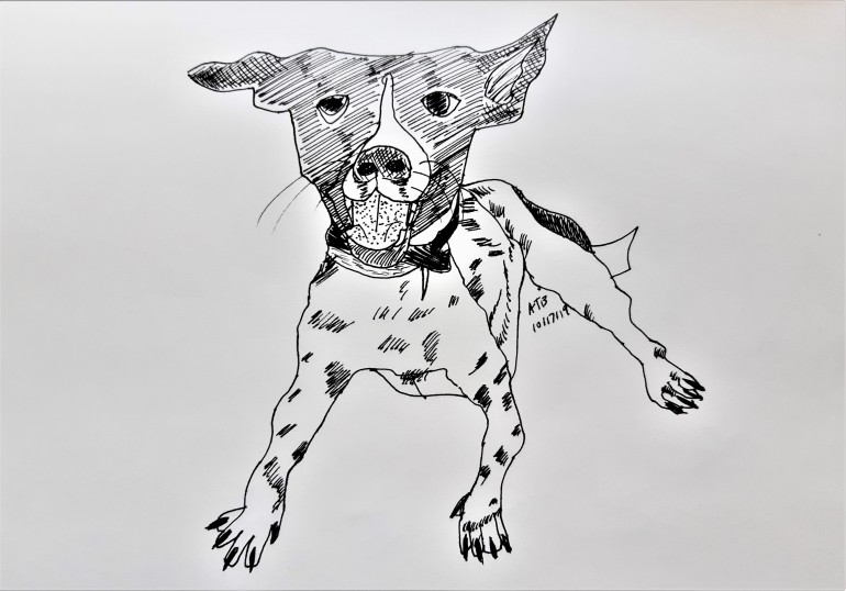 Guthrie the Dog_Illustration by Aileen Torres-Bennett