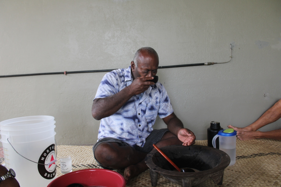 Master of the kava ceremony.