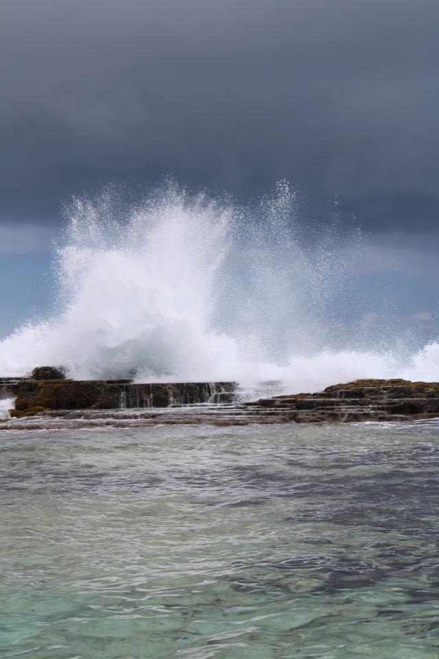 waves Tongatapu Tonga
