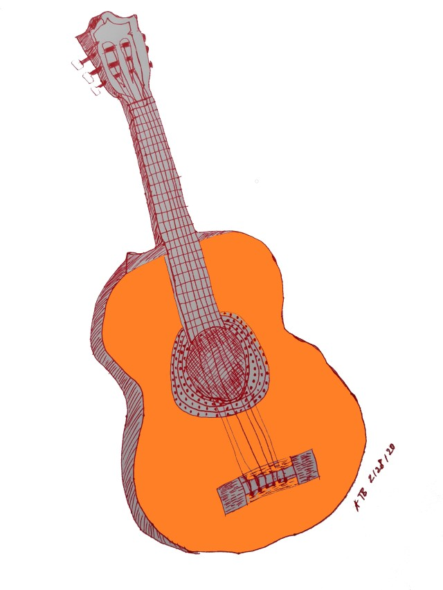 Guitar_Illustration by Aileen Torres-Bennett