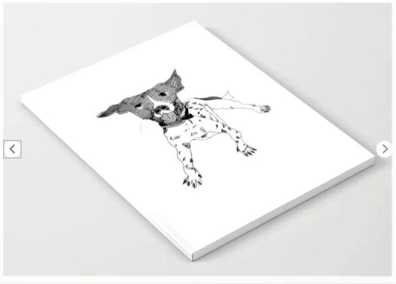 Dog notebook ATB