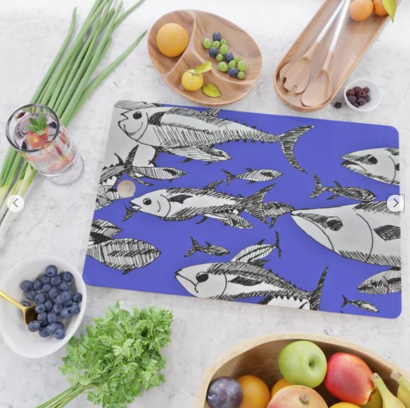 Fish in the Sea cutting board ATB