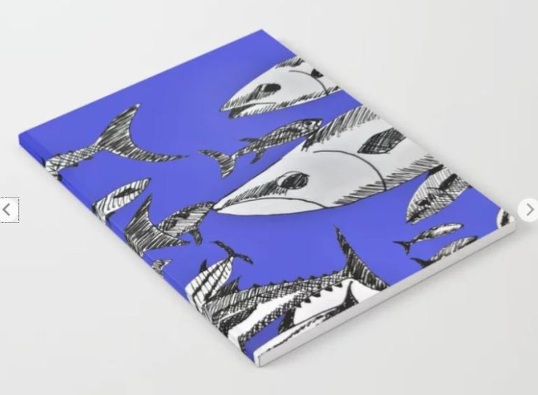 Fish in the Sea notebook ATB