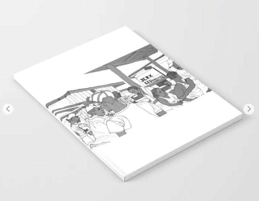 Jamaica jerk center notebook ATB