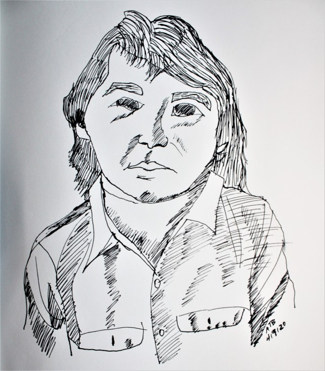 John Prine by Aileen Torres-Bennett