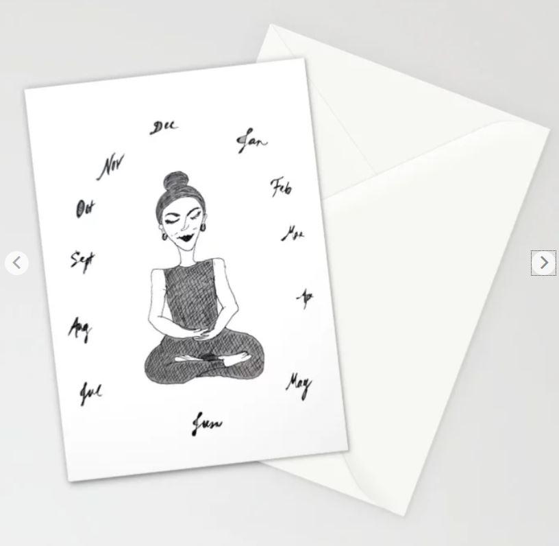 Meditation Through the Year stationary ATB