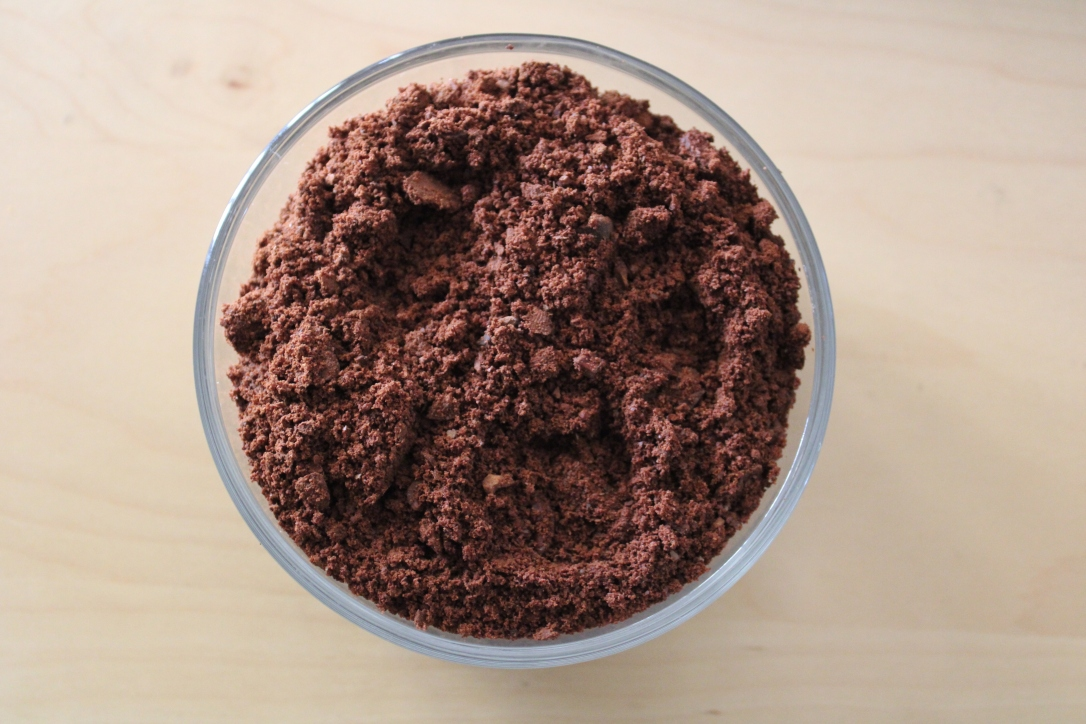 cocoa powder made from scratch from cocoa fruit seeds