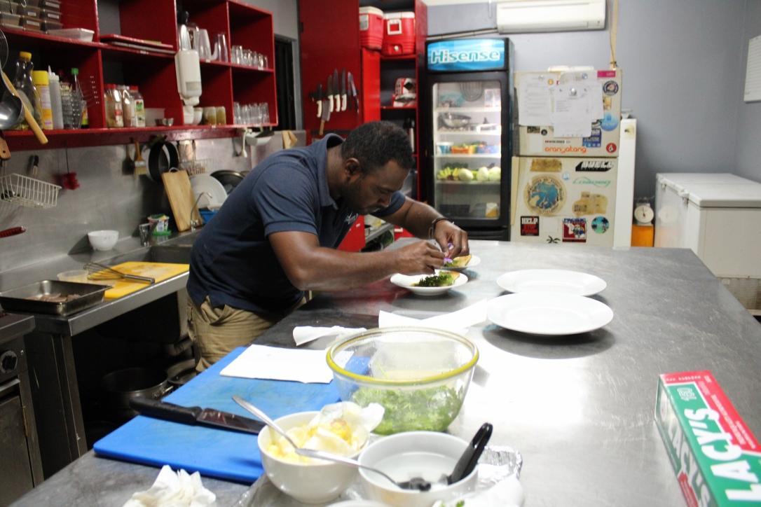 Manasa Waidroka chef