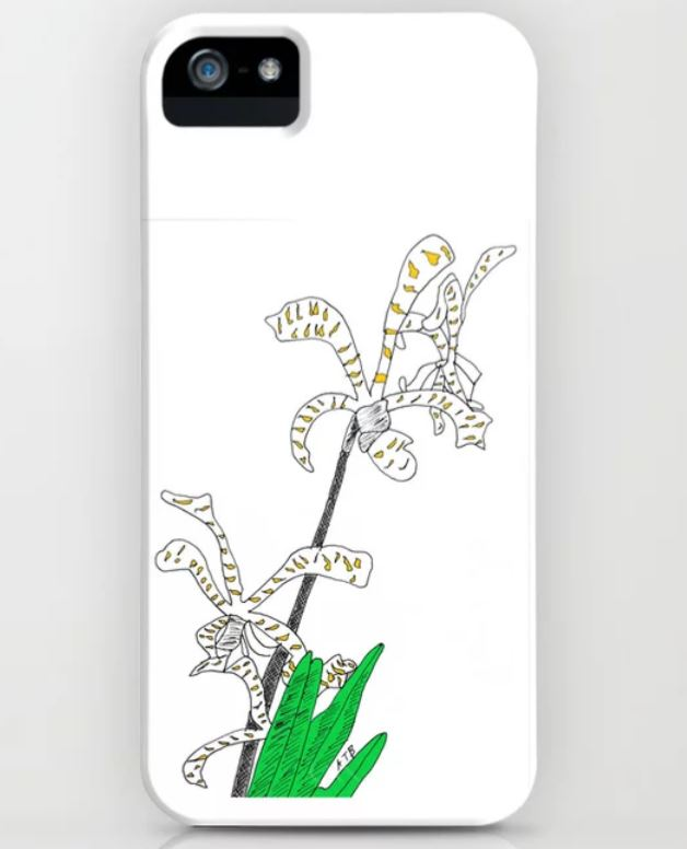 Orchid iPhone case ATB
