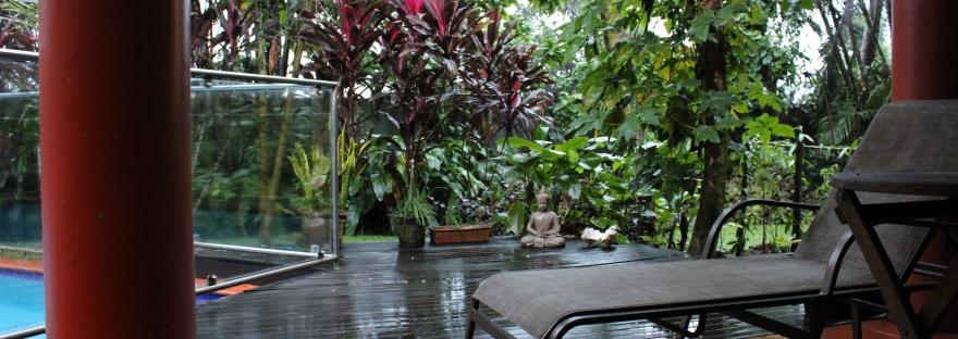 Fiji rain garden