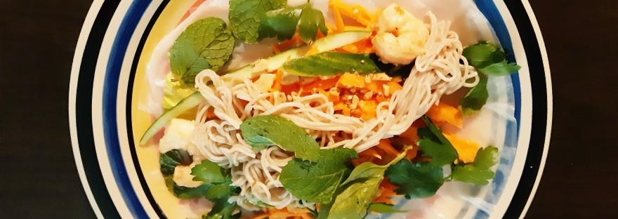 shrimp rice wrap