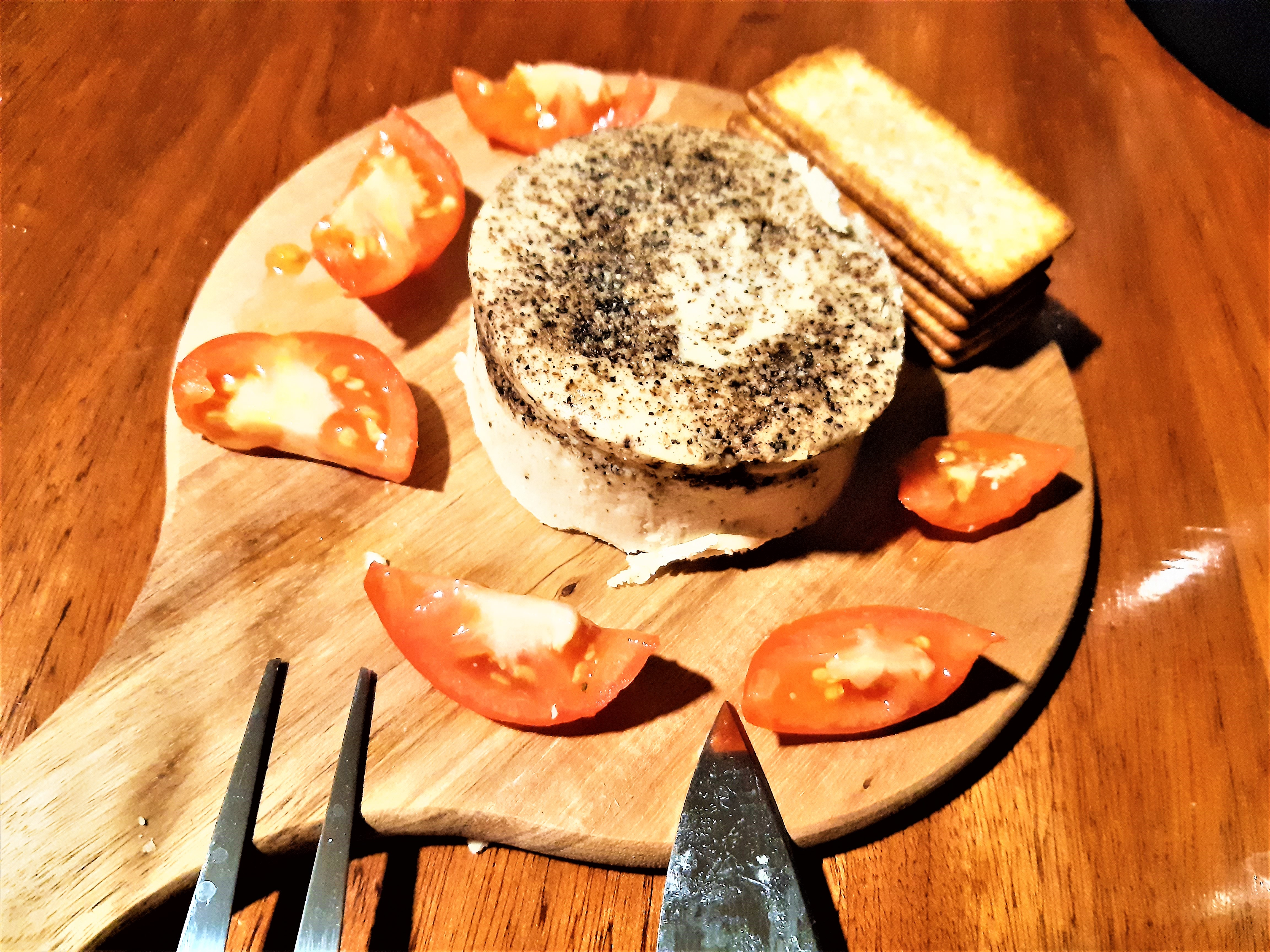 Treeline vegan aged artisinal cheese